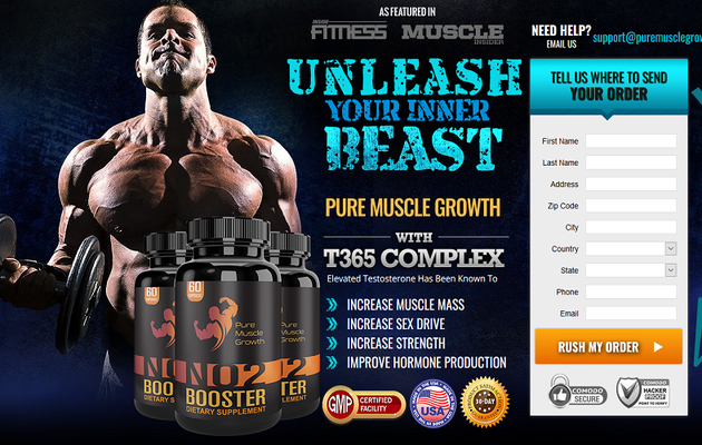Pure Muscle Growth - Boost Your Body Energy