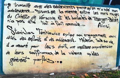 """""""Le droit de l'enfant dans la cité"""" et """"La rose"""""""