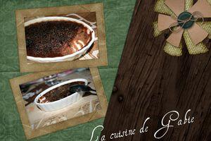 Crème brulée au cacao à la pistache