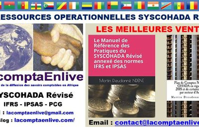 OFFRE DE DISTRIBUTION DE NOUVEAUX LIVRES SUR LE SYSCOHADA REVISE