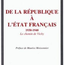 Histoire : avant la défaite ... de 1933 à 1940, par Jean Lévy