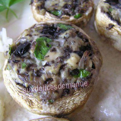 Escalope de poulet à la crème aux champignons revisitée