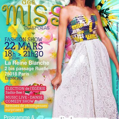 Gala des Miss, Show by Sadio-Bee
