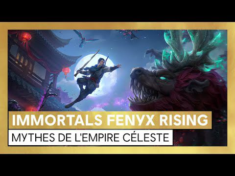 [ACTUALITE] IMMORTALS FENYX RISING - LE DLC MYTHES DE L'EMPIRE CÉLÈSTE DÉSORMAIS DISPONIBLE