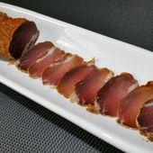 Lomo fait maison (filet mignon de porc séché) - toc-cuisine.fr