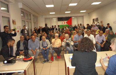 Sahara Occidental. Manif à Paris pour le 45° anniversaire de la déclaration d'unité nationale