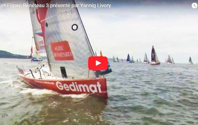 VIDEO - présentation du projet du Figaro Bénéteau 3