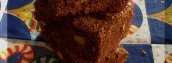 Brownies facile aux noisettes et pistaches
