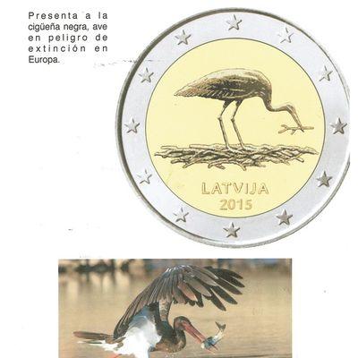 LATVIJA   2 EUROS