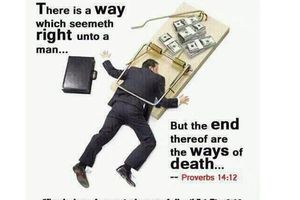 The get Rich quick syndrome of Money Making. The easy but diabolical path.
