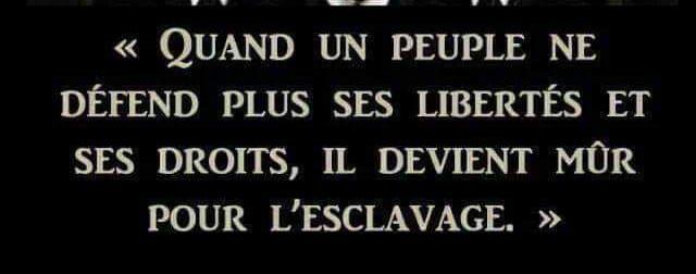Message aux Corps Constitués !!! - MAJ 03/06/2021.