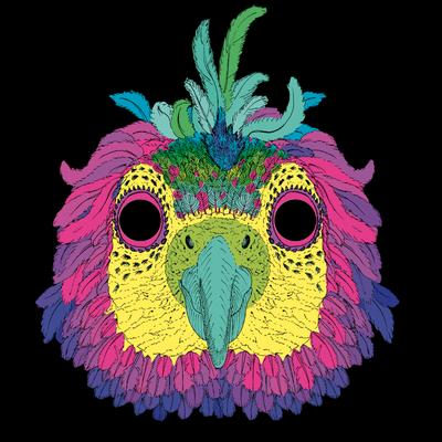 masque perroquet #4