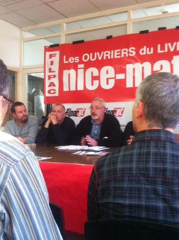 Assemblée des délégués presse à Nice Matin