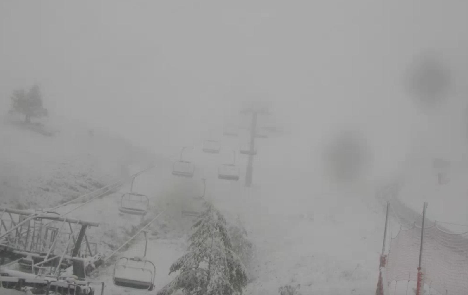 Luchon-Superbagnères : automne neigeux !