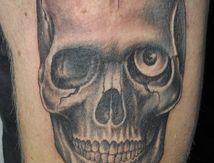 Tatouage Crane Skull tattoo