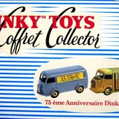 COFFRET COLLECTOR 75ème ANNIVERSAIRE DINKY TOYS REEDITION ATLAS 1/43 - car-collector.net