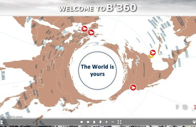 B'360 - The WORLD is YOURS