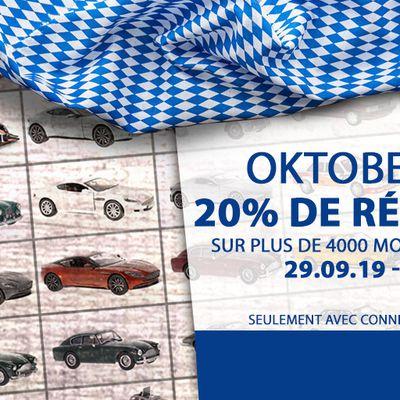 Modelcarworld : 20% de remise sur 4 000 miniatures