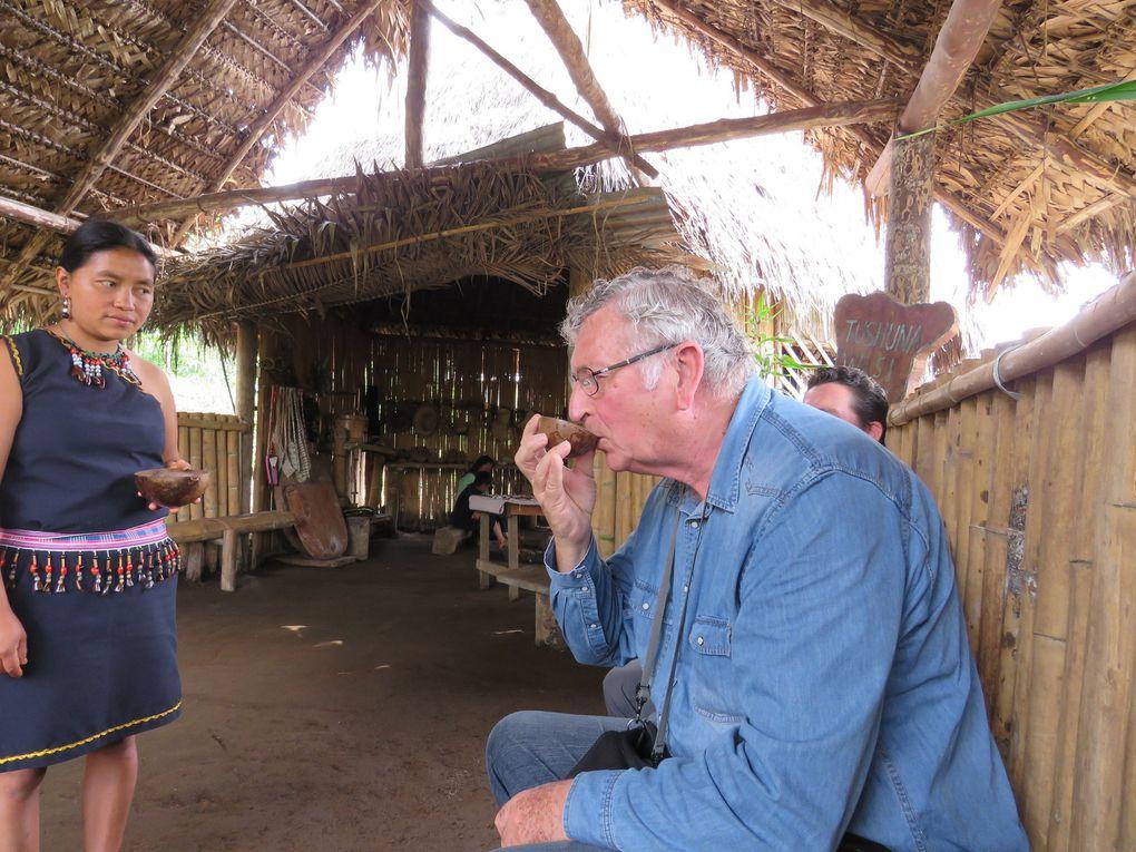 Voyage en Equateur ......  D'Otavalo à la vallée de Cotundo porte du bassin amazonien