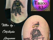 tatouage playmobil