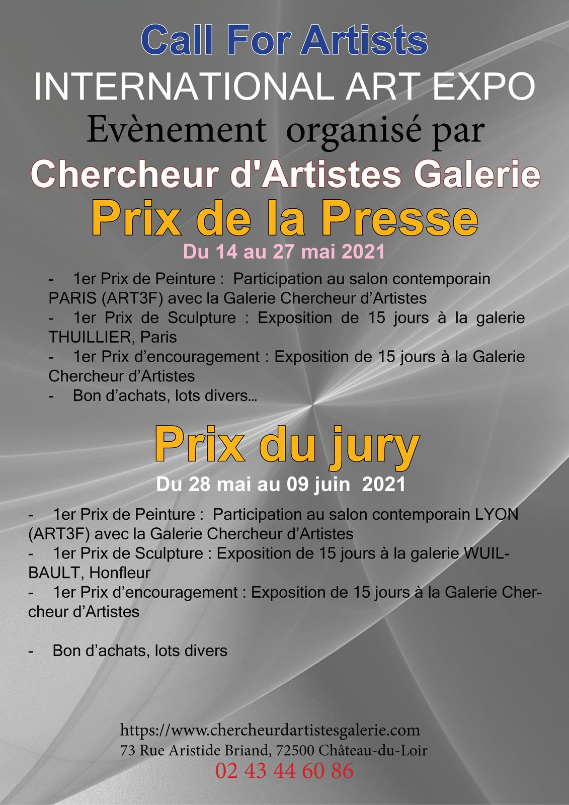 Chercheur d'Artistes Galerie INTERNATIONAL ART EXPO