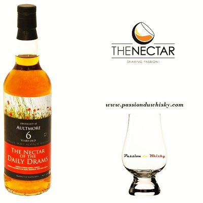 Aultmore 6Y Daily Drams