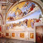 Raphael - Chambre de la Signature (1508-1511) - Vatican - LANKAART