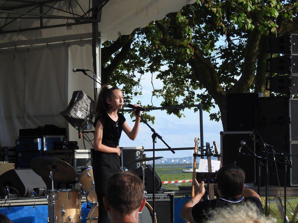 Eva Labat, une jeune chanteuse prometteuse...