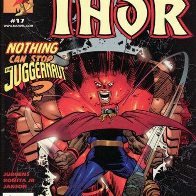 Thor n°17 (Dan Jurgens, John Romita Jr, Klaus Janson, Glenn Herdling, Gregg Shigiel)