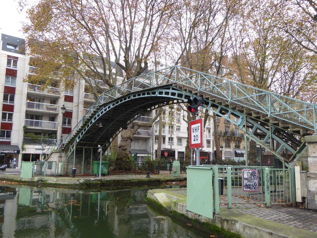 Canal Saint-Martin.