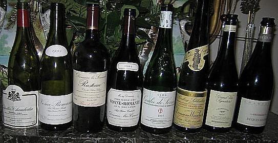 Repas dégustation du 9 septembre 2006 chez Noelle et jean-Claude