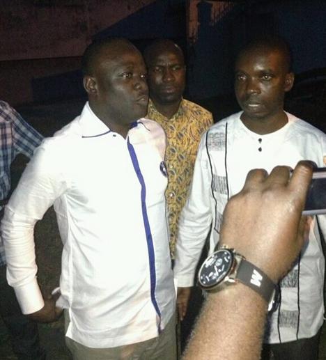 Réception des prisonniers politiques proches du président Gbagbo au CNRD à Abidjan.