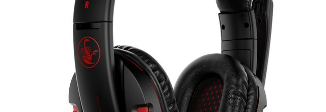 TEST: Casque Gamer Over-Ear filaire GH-S1 - AUKEY