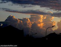 Ciel du soir sur Siem Reap