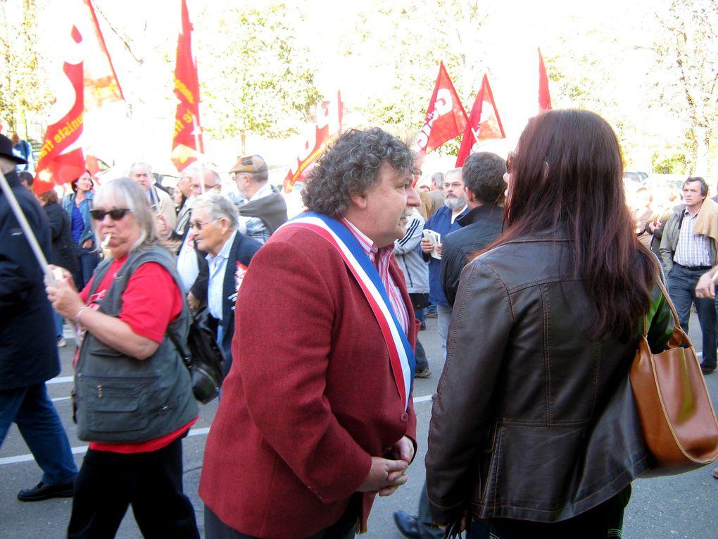 Manif Auxerre du 12 octobre 2010