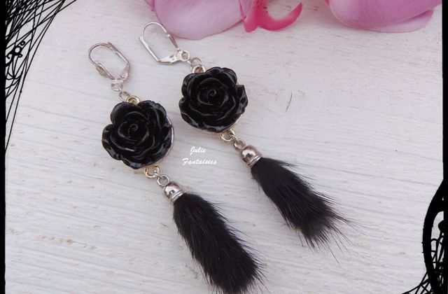Boucles d'oreille girly