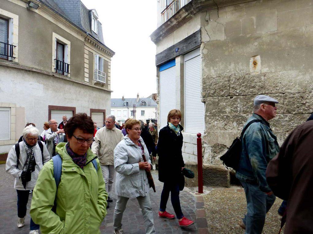 En allant de la place des Halles vers la place Saint Martin