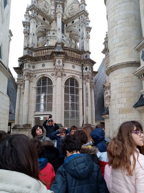 Voyage des CM1, CM2 et 6º : 2ème journée, à l'assaut des châteaux...