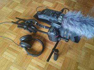 Tout nouveau matériel de prise de vue vidéo avec prise de son.