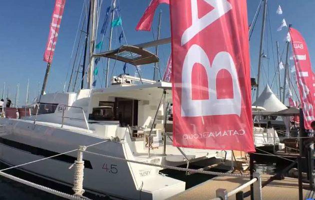 Salon International du Multicoque 2018 – 5 catamarans exposés dont 2 avant-premières mondiales chez Bali-Catana