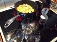 Coupe de pommes bretonnes
