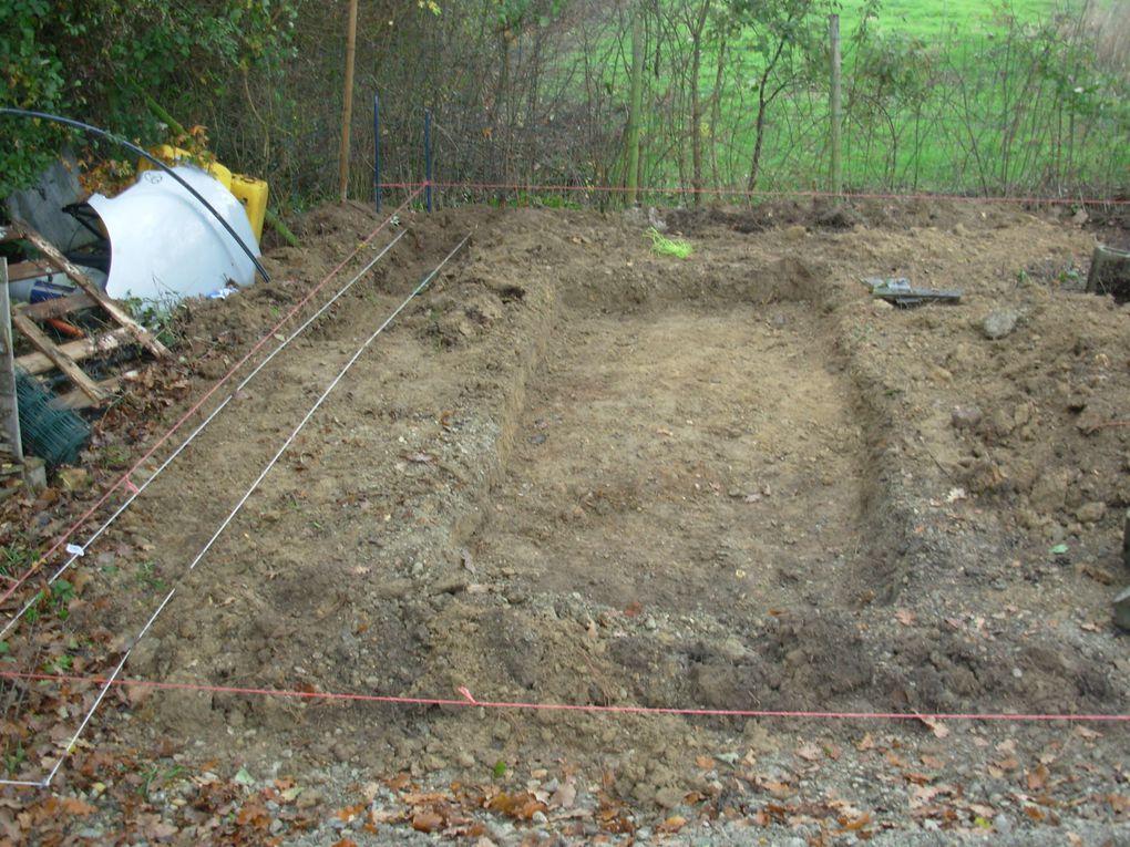 Photo des fondations