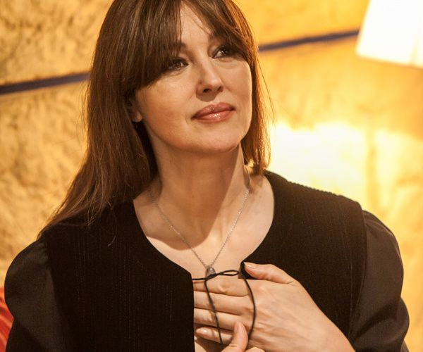 "13 juillet -  Monica Belluci au ""Paradis"" à Quiberon"