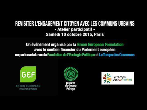 Revisiter l'engagement citoyen avec les communs urbains