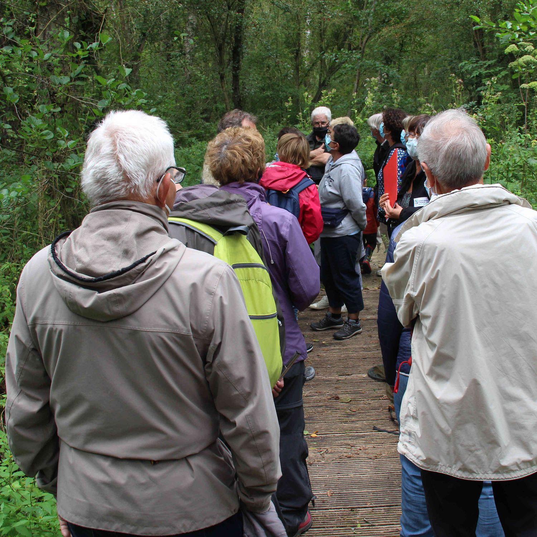 Visite du Marais de Cambrin le jeudi 26 août 2021