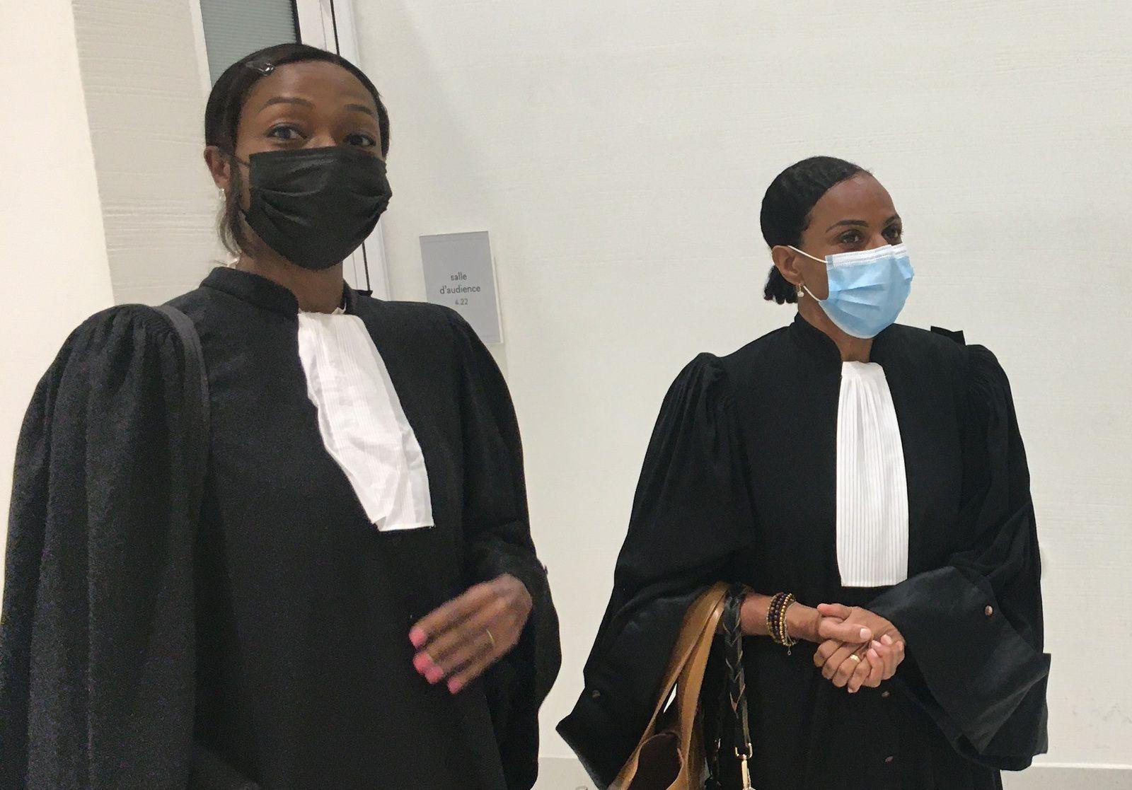 Me Muriel Renar-Legrand et le bâtonnier Laurence Hunel-Ozier-Lafontaine assurent la défense du prévenu