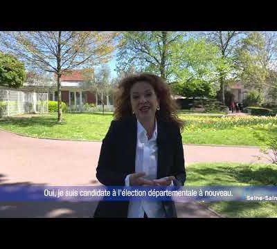 Séverine Maroun lance la campagne des élections départementales 2021 à Aulnay-sous-Bois