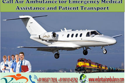 Call Air Ambulance in Guwahati for Emergency Medical Assistance and Patient Transport