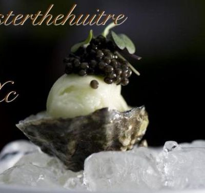 """Xavier Caille """"Oyster the huitre Paris"""""""