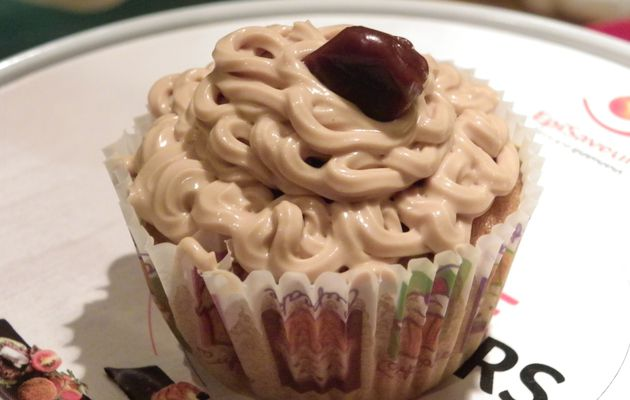 Cupcakes aux carambars caramel.....